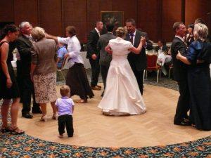 Hochzeitswalzer im Cliff Hotel