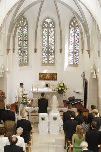 Trauung in der katholischen Kirche im Osteebad Sellin