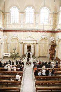 Kirchliche Trauung in der Schlosskirche in Putbus auf Rügen