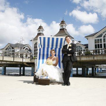 Strandhochzeit – Heiraten am Strand von Rügen