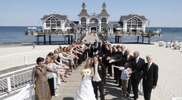 Hochzeitsservice auf der Insel Rügen